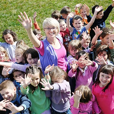 דרושה גננת בגן ילדים
